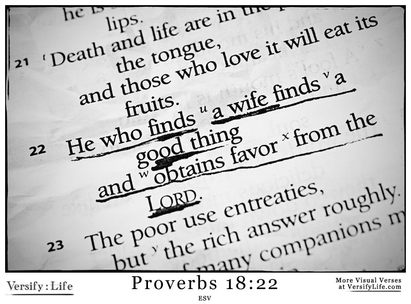 When A Man Findeth A Wife Kjv