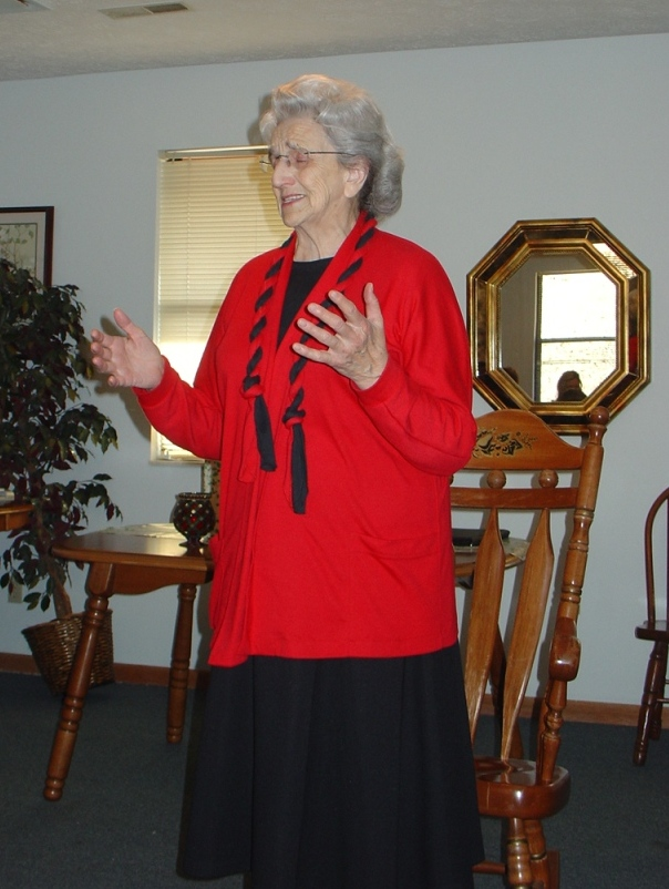 Mother Testifying to a small group in Kodak, TN.